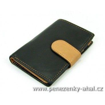 Luxusní kožené pouzdro na karty