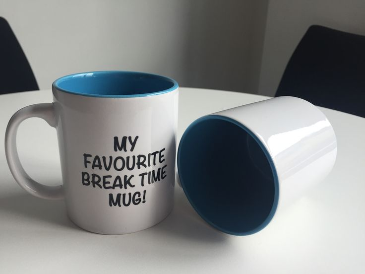 Two Tone Cambridge Mug. Exclusively ours – just for you! Cyan - coming soon!