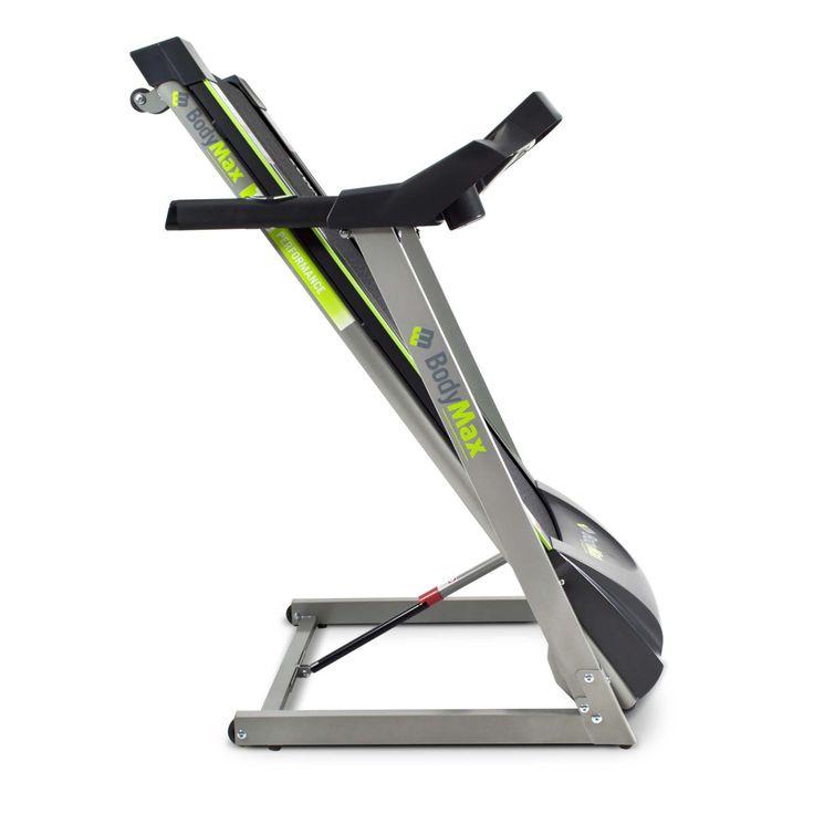 Bodymax T60HR Motorised Treadmill Folded