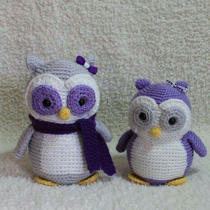 Owl crochet. Free pattern