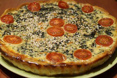 Mamá sin gluten : QUICHE DE COL RIZADA (KALE) Y TOMATES CHERRY, sin ...