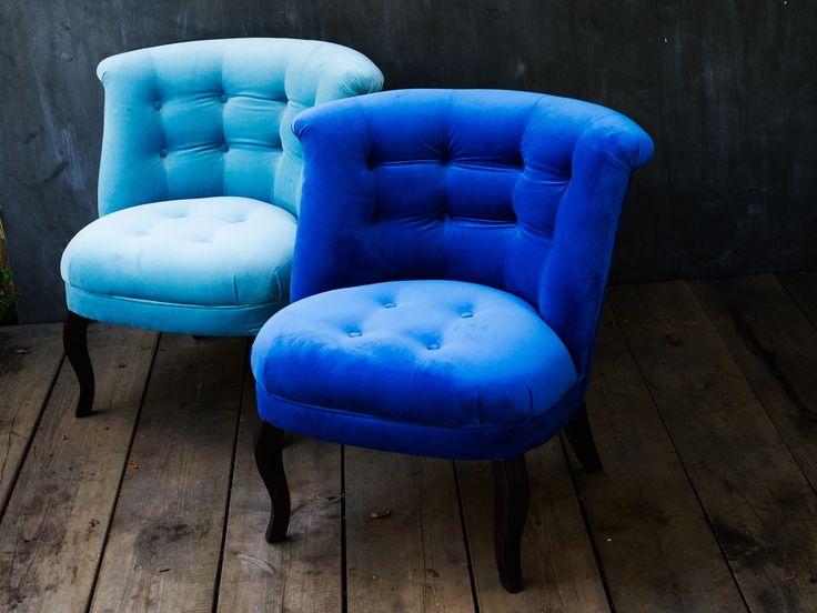 Velvet tub chair unique living room furniture for Unusual homeware