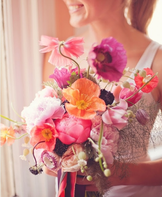This bouquet is gorgeous!!!  It isn't too uniform and the colors are sooo pretty!