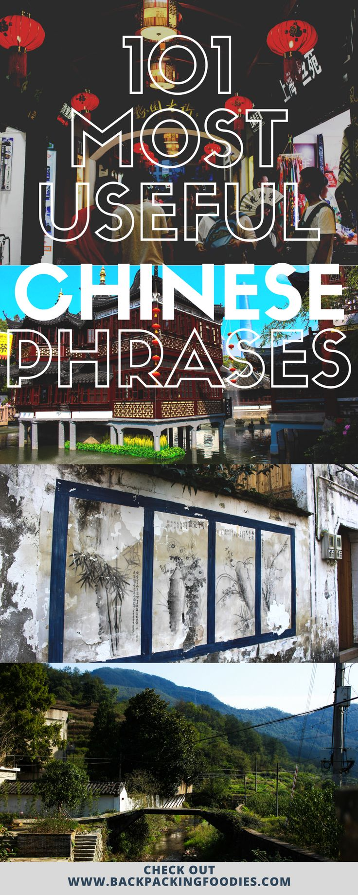 This list is filled with the 101 most useful Chinese phrases for travelling in China.
