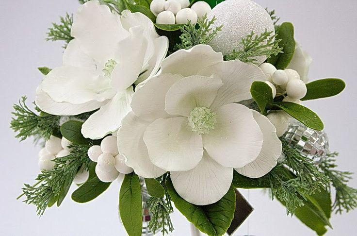 Ручная работа: Зимние цветы и ложка дёгтя