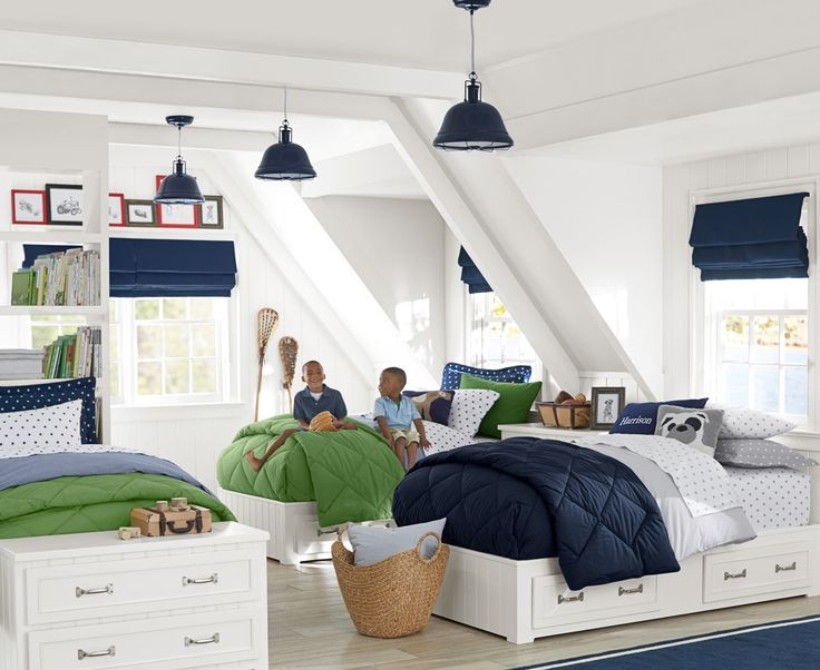 add a pop of bright fresh color to a childu0027s bed with these super soft boy setskids