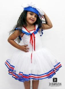 Just Baby & Kids CCK01 Denizci Kız Kostümü