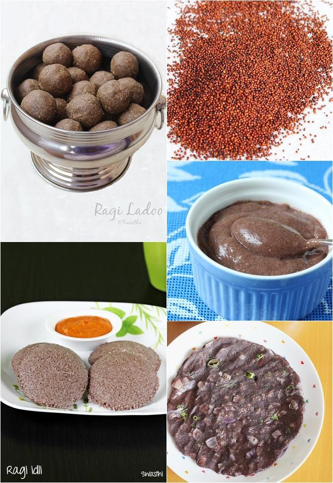 Ragi recipes - Collection of 21 delicious, healthy & quick nachni recipes using whole ragi grains and ragi flour or finger miller flour with step wise pics.