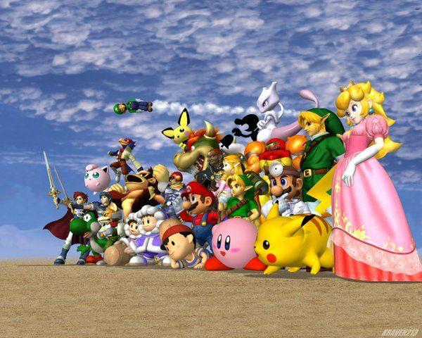 Super Smash Bros Melee #SuperSmashBros #Nintendo #Gamecube #Mario