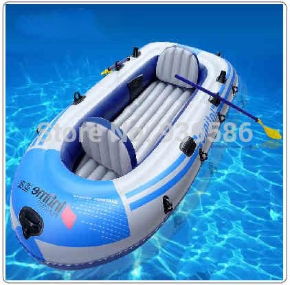 132.41$  Watch here - http://alij7q.worldwells.pw/go.php?t=2012375231 - High quality 4 persons inflatable boat PVC 0.45mm thick Canoe Kayak fishing boat Drifting craft rubber boat size 272 * 152cm