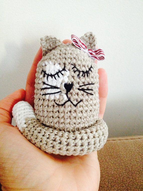 Kitty Cat crochet toy amigurumi cat от DecorAnna на Etsy