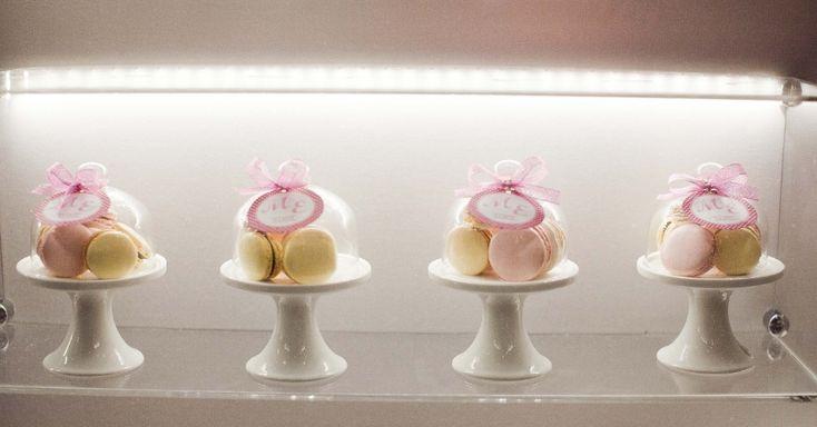 Mini boleira com macarons por Gift Chic