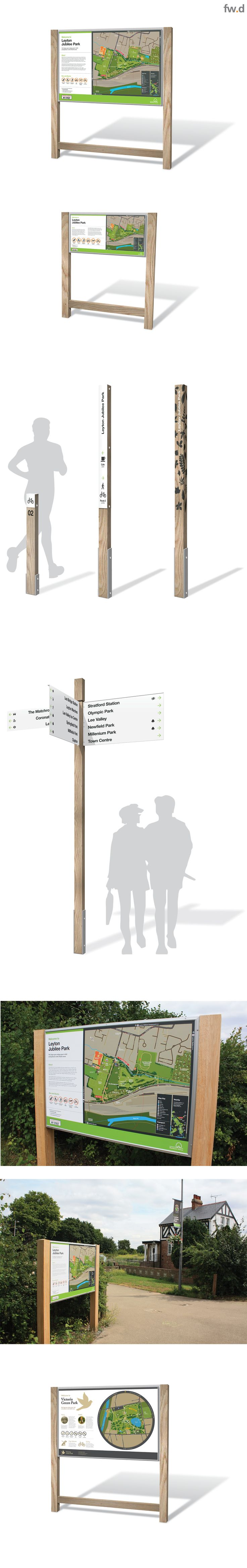 Our new family member brings all the benefits of our 'best practice' wayfinding approach with a new palette of materials and finishes introduced to complement the environment of green spaces.