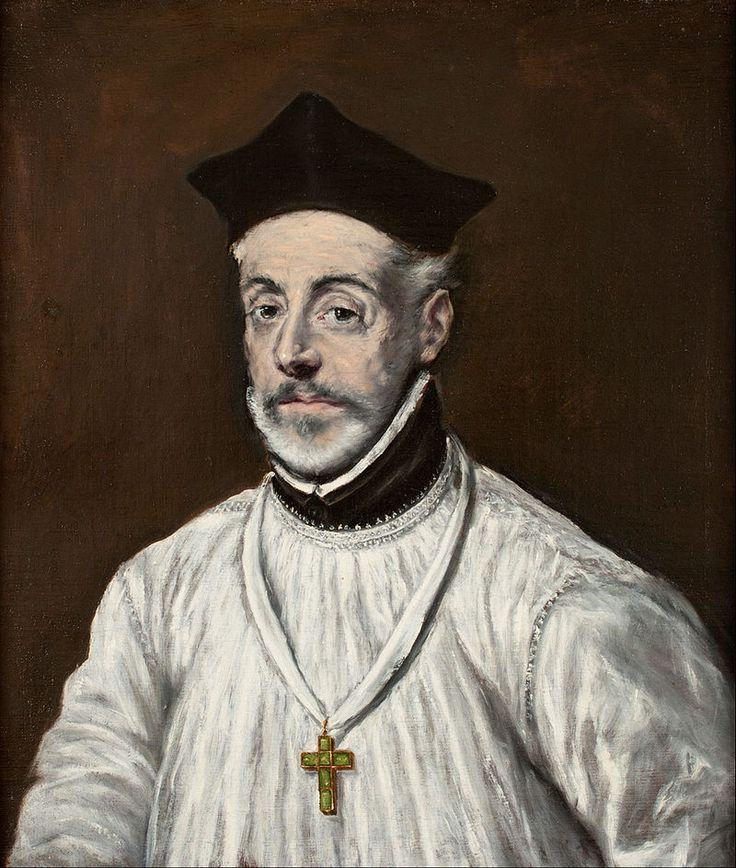 El Greco - Portrait of Diego de Covarrubias y Leiva - Google Art Project - Escuela de Salamanca - Wikipedia, la enciclopedia libre