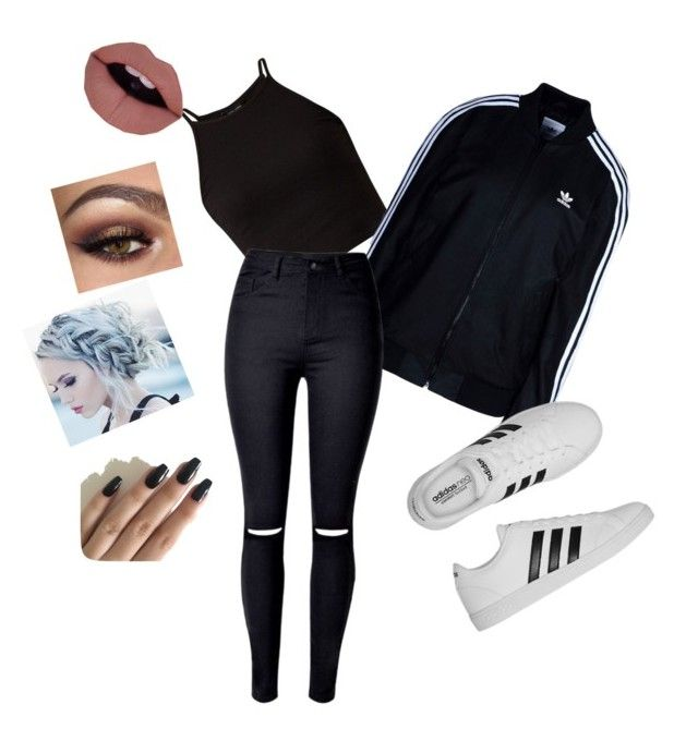"""""""Untitled #23"""" by jessfry10 on Polyvore featuring adidas Originals and adidas"""
