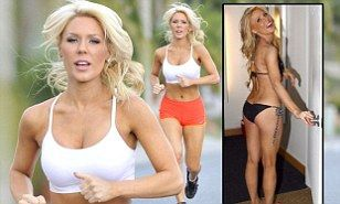 How to get a great bikini body: Work out like Real Housewives star Gretchen Rossi does