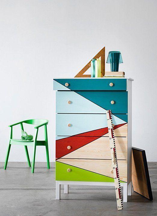 IKEA hack http://www.digsdigs.com/ikea-tarva-dresser-in-home-decor-35-cool-ideas/