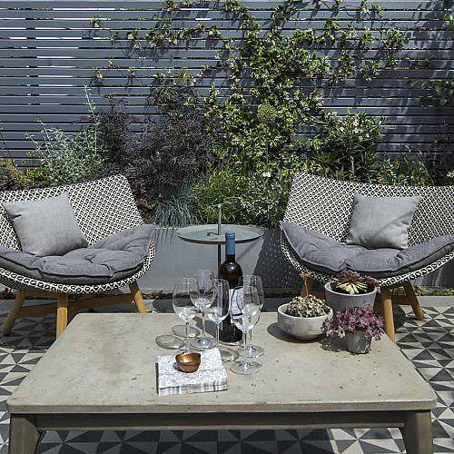 Private small garden design outdoor room ideas courtyard ...