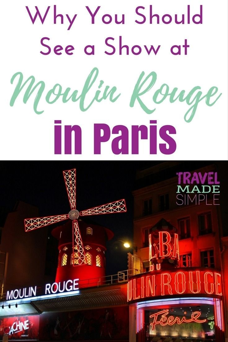 Seeing a cabaret show at Moulin Rouge is a must when you visit Paris. It's such an entertaining show and I'm so glad I got tickets to Moulin Rouge in Paris!