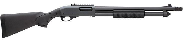 The Remington Model 870 Express Tactical.