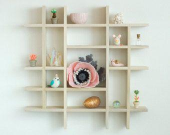 Shadow Box shelf wooden Shadowbox Small Shadow box by Heezome
