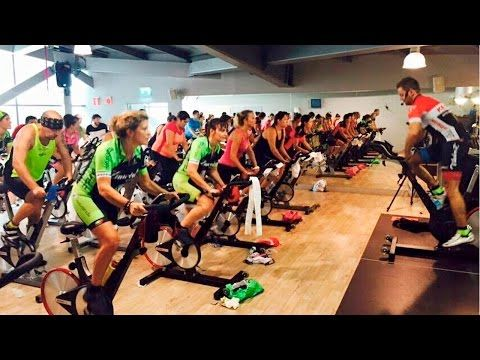 Best FULL hour FREE On-line Spin Class / Cycling Video w/ Cat Kom from Studio SWEAT onDemand -Part 1 - YouTube