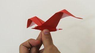 Origami seagull. How to fold origami seagull?