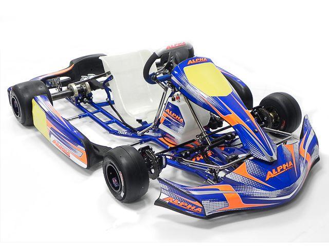 KIT CHASSIS TIGER BLACK - DD2 Châssis Compétition [J010] Alpha   ALPHA de Alpha Karting