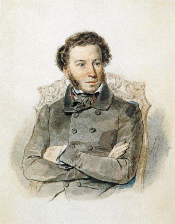 Акварель художника Петра Соколова. 1836 год.