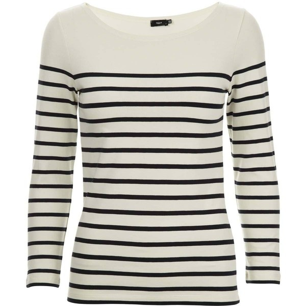 I have to have at least one striped l/s tee in my wardrobe. I use those for everything. Once my first one had to be replaced I had a real hard time finding the perfect one but this one is everything I wanted. Bought April '12.
