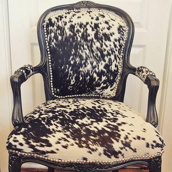 Best 25+ Cowhide chair ideas on Pinterest   Cow print ...
