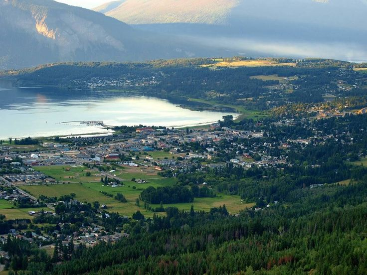 Salmon Arm on the Shuswap lake, my hometown