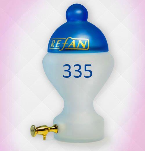 Refan 335 este un parfum oriental ce are ca note de varf floarea de ghimbir, iasomie de apa si mandarina verde.  Detalii: http://www.danka.ro/prod/parfum-refan-335-683