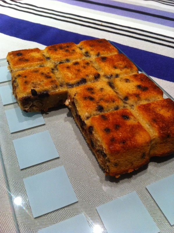 Cake Aux Pommes Et P Ef Bf Bdpites De Chocolat Thermomix