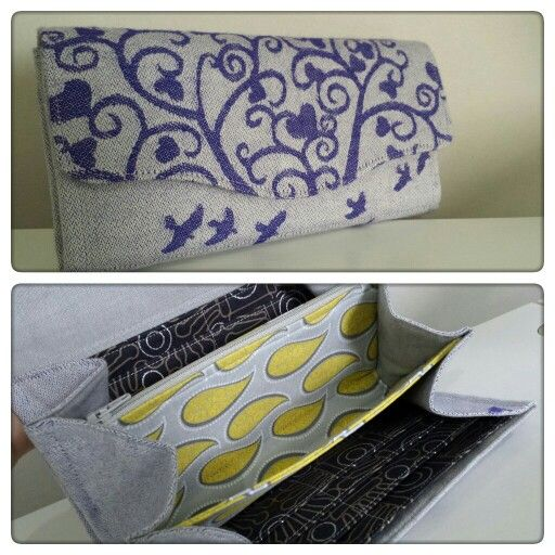 Necessary Clutch Wallet by EmBee Designs (made from Kokadi Jesper im Wunderland)