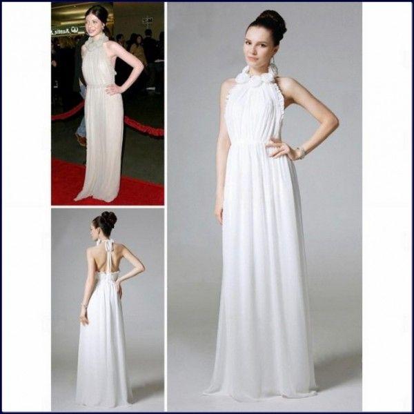 Michelle-Trachtenberg-Evening-Dress-White