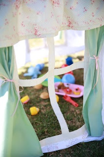 The Imperfect Housewife: Vintage Tea Party Cubby House