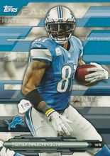 2014 Topps Fantasy Strategies #FFS-CJ Calvin Johnson, Detroit Lions