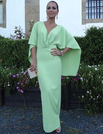 Paula Echevarria mint green
