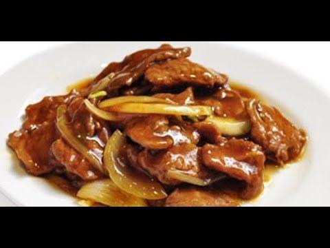 Recette chinoise : boeuf sauté aux oignons avec Hervé Cuisine et Margot - YouTube