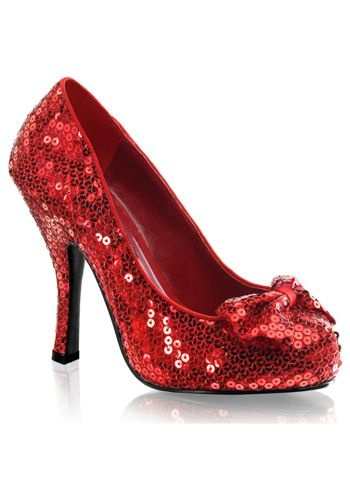 Red Sequin High Heels #shoes #sexy #sparkle #stiletto