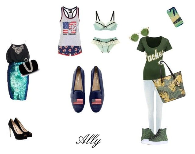 """""""Ally's fashion"""" by mariapizzuto on Polyvore featuring moda, Diesel, '47 Brand, Converse, Lauren Ralph Lauren, Oliver Peoples, Casetify, Topshop, Stubbs & Wootton e GUESS"""
