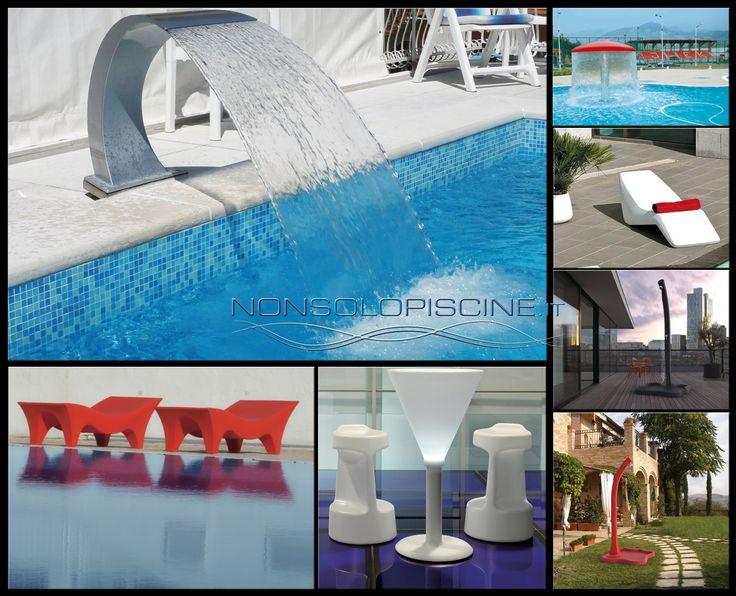 #Lampade, #fontane, #docce, #lettini e tanto altro per la tua #piscina ed il tuo #giardino. Consegne in tutta #Italia. Ordina su http://www.nonsolopiscine.it/