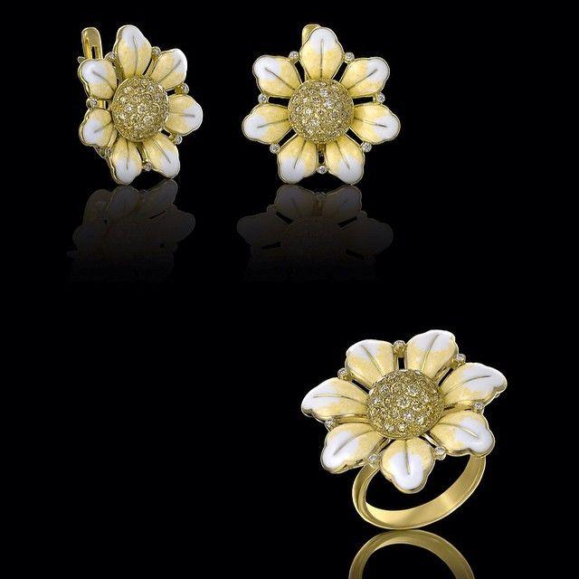 Фото nikolay_romanov_: #ювелирныеизделия #бриллианты #золото... #07110