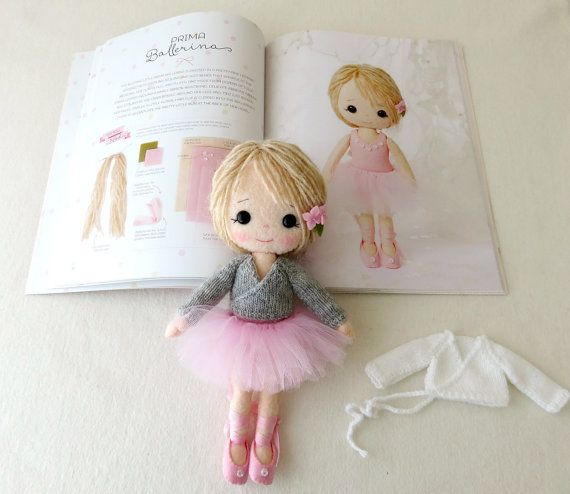Knitting Pattern Ballerina Doll : 17 Best images about To Make - Gingermelon dolls on ...