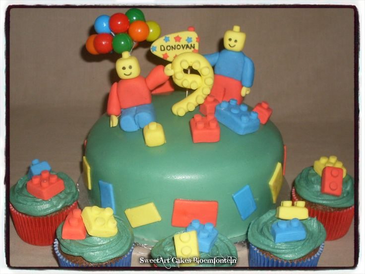 LEGO CAKE For more information & orders email SweetArtBfn@gmail... or call 0712127786. Follow me on Facebook: For more information & orders email SweetArtBfn@gmail... or call 0712127786. Follow me on Facebook: https://www.facebook.com/sweetart.bloemfontein (Decor on cake is available for sale separately)