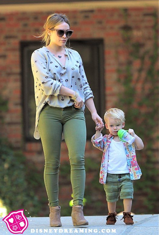 Hilary Duff's son Luca is a big boy now!
