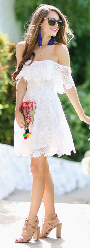 The Perfect LWD (Little White Dress)