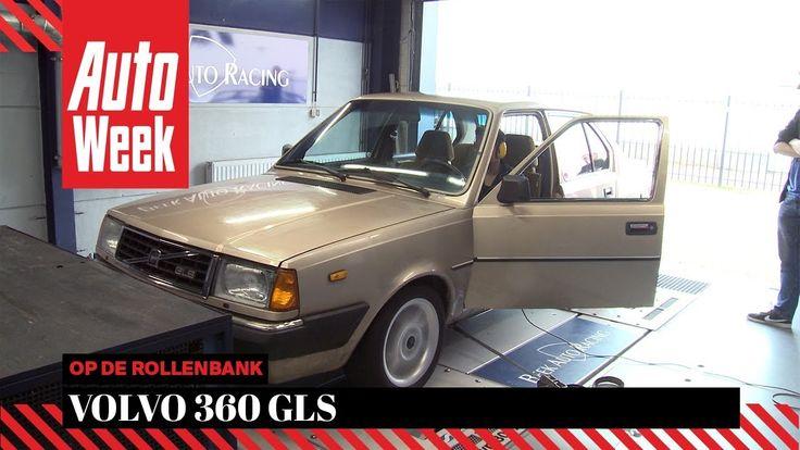 Volvo 360 GLS - Op de Rollenbank