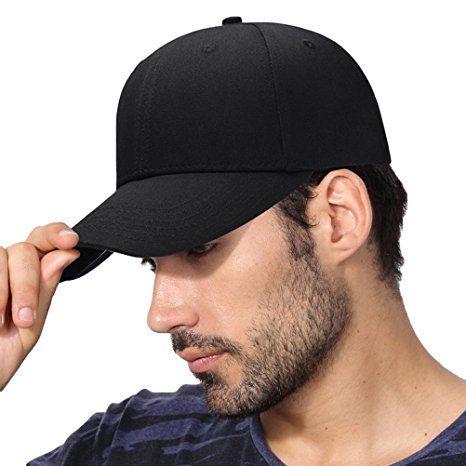 CACUSS Classic Baseball Cap Adjustable Cotton Absorb Sweat Dad Hat